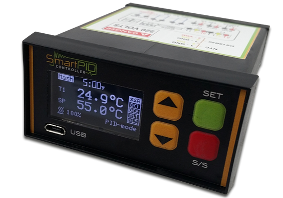 Temperature Control Using Pid Controller Circuit Diagram | Smartpid Smart Temperature Controller