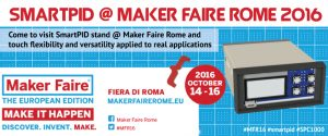 SmartPID @ Maker Faire Rome