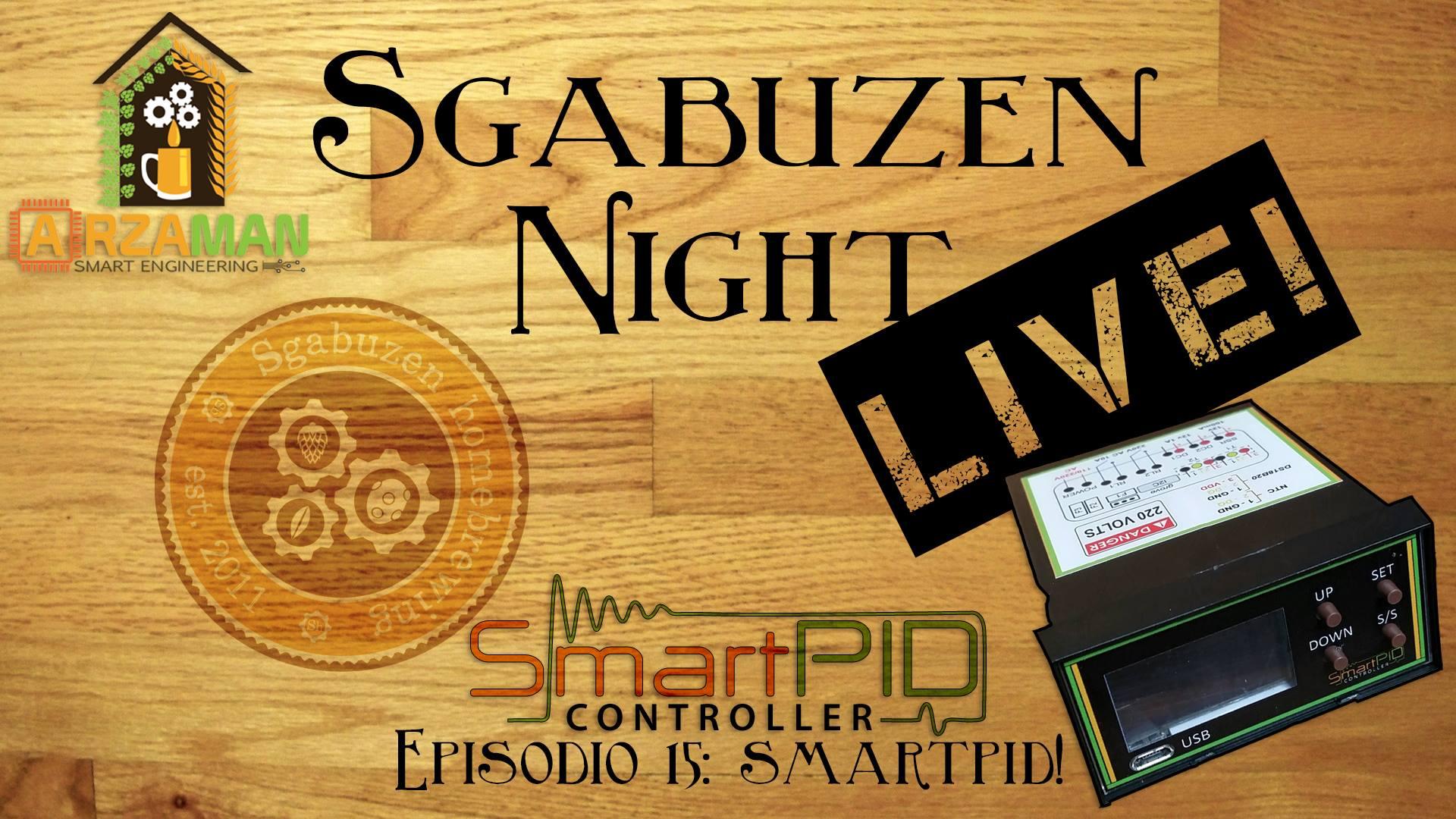 SmartPID in driretta live con Sgabuzen Homebrewing